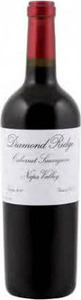 Diamond Ridge Reserve Cabernet Sauvignon 2012, Napa Valley Bottle