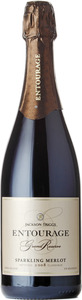 Jackson Triggs Entourage Grand Reserve Sparkling Merlot 2010, Niagara On The Lake Bottle