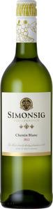 Simonsig Chenin Blanc 2013, Wo Stellenbosch Bottle