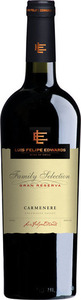 Luis Felipe Edwards Family Selection Gran Reserva Carmenere 2013 Bottle