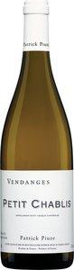 Patrick Piuze Petit Chablis 2013 Bottle