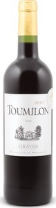 Petit Toumilon 2010, 2nd Wine Of Ch. Toumilon, Ac Graves Bottle