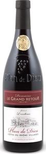 Domaine Le Grand Retour Plan De Dieu 2011, Ac Côtes Du Rhône Villages Bottle