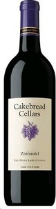 Cakebread Zinfandel 2011, Red Hills Lake County Bottle