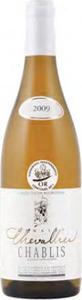 Domaine Chevallier Chablis 2012, Ac Bottle