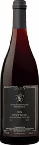 Königschaffhausen Steingrüble Pinot Noir 2011, Qba Baden Bottle