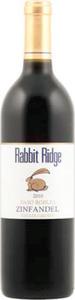 Rabbit Ridge Estate Grown Zinfandel 2012, Paso Robles Bottle