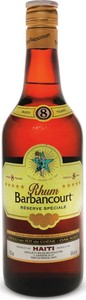Rhum Barbancourt 5 Stars 8 Yo Special Reserve, Haiti Bottle
