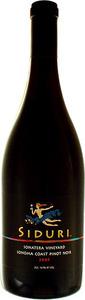 Siduri Sonatera Vineyard Pinot Noir 2012, Sonoma Coast Bottle