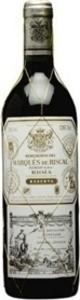 Marqués De Riscal Reserva 2009 Bottle