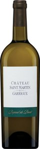Château Saint Martin De La Garrigue Picpoul De Pinet 2013 Bottle