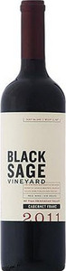 Black Sage Cabernet Franc 2011, VQA Okanagan Valley Bottle
