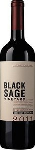 Black Sage Cabernet Sauvignon 2011, BC VQA Okanagan Valley Bottle