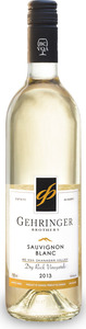 Gehringer Sauvignon Blanc Dry Rock 2013, BC VQA Okanagan Valley Bottle