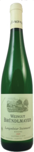 Weingut Bründlmayer Langenloiser Steinmassel Riesling 2008 Bottle
