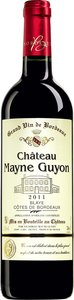 Château Mayne Guyon 2011, Blaye Ctes De Bordeaux Bottle