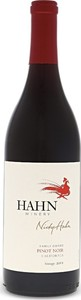 Hahn Nicky Hahn Pinot Noir 2013, Monterey   Santa Barbara   Sonoma Bottle