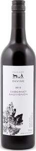 Devine Organic Cabernet Sauvignon 2012, Riverland Bottle