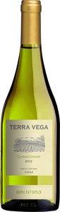 Terra Vega Chardonnay 2014 Bottle