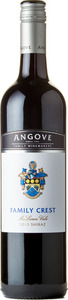 Angove Family Crest Shiraz 2013, Mclaren Vale Bottle