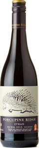 Porcupine Ridge Syrah 2013, Swartland Bottle
