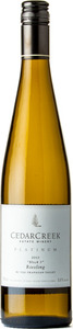 CedarCreek Platinum Riesling Block 3 2013, Okanagan Valley Bottle