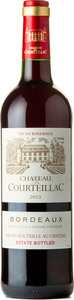 Chateau De Courteillac 2013 Bottle