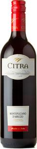 Citra Montepulciano D'abruzzo 2013, D.O.C. Bottle