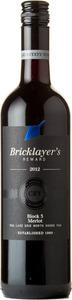 Bricklayer's Reward Block 3 Merlot 2012, VQA Lake Erie North Shore Bottle