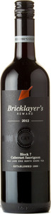 Bricklayer's Reward Block 7 Cabernet Sauvignon 2012, VQA Lake Erie North Shore Bottle