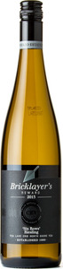 Colio Bricklayer's Reward Six Rows Riesling, Colio Estate Winery 2013, Lake Erie North Shore Bottle