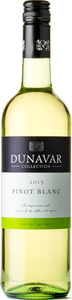 Dunavár Pinot Blanc 2013 Bottle