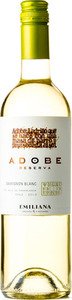 Emiliana Adobe Reserva Sauvignon Blanc 2013 Bottle