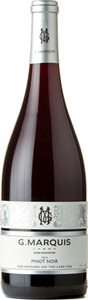 G. Marquis The Silver Line Pinot Noir 2012, Niagara On The Lake Bottle
