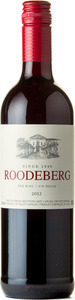 K W V Roodeberg 2012, Western Cape Bottle