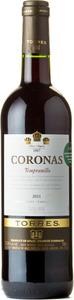 Miguel Torres Coronas Tempranillo 2011 Bottle
