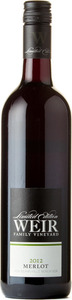 Mike Weir Wine Weir Family Vineyard Merlot 2012, Beamsville Bench, Niagara Peninsula Bottle