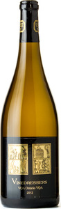 Pelee Island Winery Vinedresser Chardonnay 2012, Lake Erie North Shore Bottle