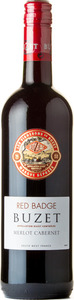 Buzet Red Badge Merlot Cabernet 2011, South West France Bottle