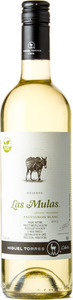 Miguel Torres Las Mulas Reserva Sauvignon Blanc 2013 Bottle