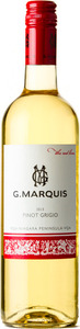 G. Marquis The Red Line Pinot Grigio 2013, VQA Niagara Peninsula Bottle