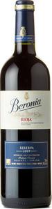 Beronia Reserva 2009, Doca Rioja Bottle