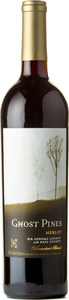 Ghost Pines Winemaker's Blend Merlot 2012, Napa & Sonoma Counties Bottle