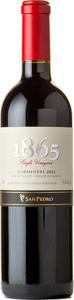 San Pedro 1865 Single Vineyard Carmenère 2012 Bottle