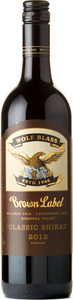 Wolf Blass Brown Label Classic Shiraz 2012, Mclaren Vale   Langhorne Creek   Barossa Valley Bottle