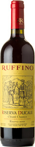 Ruffino Chianti Classico Riserva Ducale 2010, Tuscany Bottle