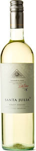 Santa Julia+ Pinot Grigio 2014, Mendoza Bottle
