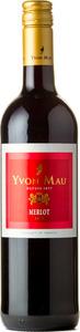 Yvon Mau Merlot 2013, Vin De Pays De L' Aude Bottle