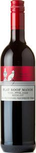 Flat Roof Manor Merlot 2013, Stellenbosch Bottle