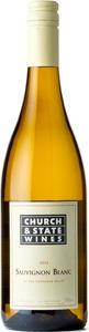 Church & State Sauvignon Blanc 2013, BC VQA Okanagan Valley Bottle